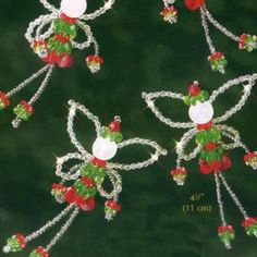 Amazon.com: Christmas Fairies - Beaded Kit 5511: Arts, Crafts & Sewing