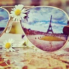 We love .. sunglasses, travelling to paris!