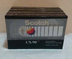 Blank cassette tape Scotch 90 min
