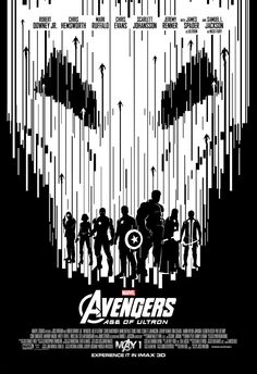IMAX poster 4. Avengers: Age of Ultron.