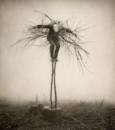 Robert Parkeharrison. Scarecrow...
