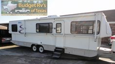 What a sweet package! A low profile trailer that save your gas and as is easy to pull with a lower profile! Dont be fooled by the look thoug...See more great RVs for sale at http://BudgetRVsOfTexas.com