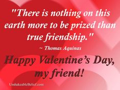 A great quote about love and friendship.