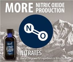Nitrates offers more Nitric Oxide production for your body.