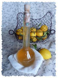 Goûte, j'ai testé un truc !: Le vin de citrons vanillé {chasse aux citrons #1}