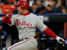 Burrell to retire a Phillie--   Pat Burrell will sign a one-day contract and retire as a Phillie during the Boston Red Sox series in May, the team announced April 12, 2012