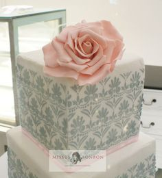 Closeup on our sugar rose