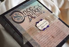 Once Upon a Time Fairy Tale Guest Book Wedding guestbook. I would love this for my wedding :)