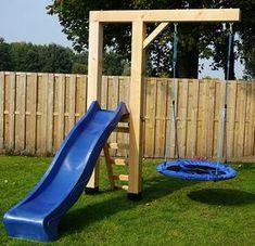 135 amazing backyard patio remodel ideas -page 4 Backyard Swings, Backyard For Kids, Backyard Projects, Outdoor Projects, Backyard Patio, Backyard Landscaping, Backyard Slide, Backyard Play Areas, Garden Kids