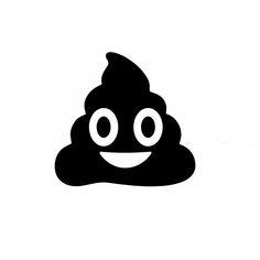 15cm x 15cm Poop Emoji Funny Car Sticker For Truck Window Bumper Auto SUV Door Laptop Kayak Vinyl Decal