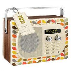 How cute is this Orla Kiely Radio?