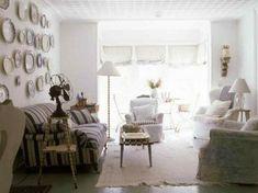 wohnzimmer sesel shabby chic stil beige farbe polsterung | living ... - Wohnzimmer Shabby Chic Modern