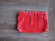 Vintage Mod 60s/70s Lipstick Red Purse / by JoyVintage1947 on Etsy, $24.00
