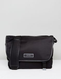 Get this Ps By Paul Smith's messenger bag now! Click for more details. Worldwide shipping. PS by Paul Smith Nylon Tech Large Messenger in Black - Black: Messenger bag by PS By Paul Smith, Durable nylon outer, Leather trims, Padded shoulder strap, Front flap closure, External pocket, Interior sleeve for laptop or tablet. Designed in the UK, PS by Paul Smith bears all the hallmarks of Sir Paul Smith�s individual and quintessentially British style. Signature prints are spread across slim fit…