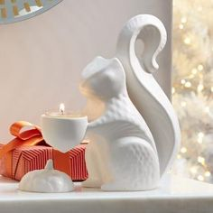 Squirrel Tealight Holder: perfect for the animal lover!