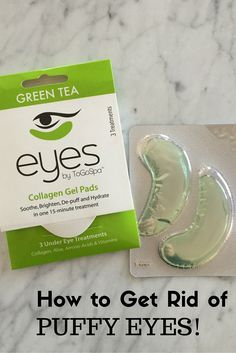 How to Reduce Puffy Eyes - our top beauty tip for tired moms - MomTrends