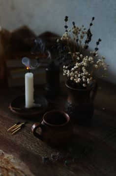 melancholy by ilmari-nen on DeviantArt Candle Packaging, Candle Labels, Candlestick Chart, Candle Spells, Magick Spells, Brown Aesthetic, Aesthetic Rooms, Autumn Cozy, Melancholy