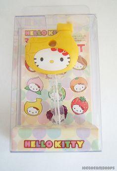 Hello Kitty Banana Key cap cover