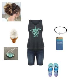 """""""I need a vacation"""" by rfaber on Polyvore featuring Kate Spade, Jewel Exclusive, Aéropostale, Silver Jeans Co. and plus size clothing"""