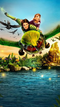 """Wallpaper for """"Epic"""" Epic Animated Movie, Epic Movie, Disney And Dreamworks, Disney Pixar, Secret Of The Wings, Guardians Of Childhood, Blue Sky Studios, Best Movie Posters, Cinema"""