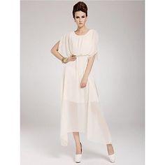 Women's Bohemian Beach Chiffon Long Dress – GBP £ 14.59