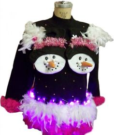 ulgy sweater ideas | 31 Ugly Christmas Sweater Ideas - Snappy Pixels