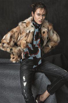 "Monika ""Jac"" Jagaciak for Bergdorf Goodman Pre-Fall 2015"