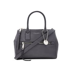 Marc Jacobs Recruit E/W Tote ($560) ❤ liked on Polyvore featuring bags, handbags, tote bags, leather tote bags, leather tote purse, handbags totes, hand bags and leather man bags