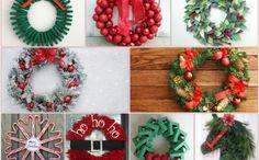 So Können Sie Einen Weihnachtskranz Selber Basteln   50 Ideen