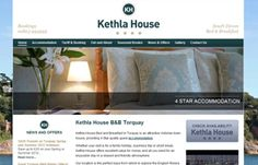 Kethla House www.kethlahouse.co.uk | Eye-catching new website design for attractive 4 Star Guesthouse