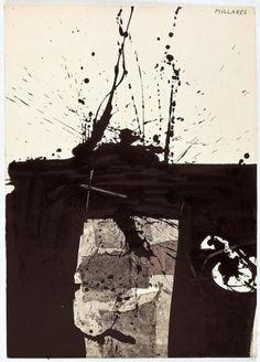 The work Sans titre - Centre Pompidou Surrealism Painting, Painting Collage, Abstract Drawings, Abstract Art, L'art Du Portrait, Meditation Art, Mykonos, Art For Art Sake, Art Graphique
