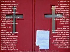 What can I do?  +  ¿Qué puedo hacer yo?  +  http://www.biblegateway.com/passage/?search=Is+58%3A3-9a