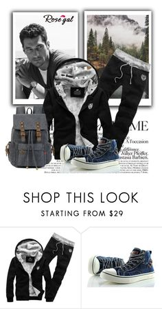 """""""Rosegal business man"""" by sabine-rose ❤ liked on Polyvore featuring La Femme, men's fashion, menswear, Summer, Blue, beach and rosegal"""