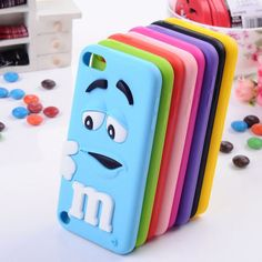 Lovely Cute Case Silicone Skin Cover for Apple iPod and iPhone Touch 5 Gen Cute Ipod Cases, Ipod Touch Cases, Cool Iphone Cases, Ipod Touch 6th, Cool Cases, Iphone 5c, Coque Iphone 6, Coque Ipod Touch 6, Apple Coque