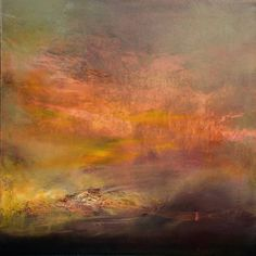 "Saatchi Art Artist Maurice Sapiro; Painting, ""Segue, Day Into Night   final version"" #art"
