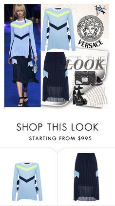 """""""Untitled #970"""" by fl4u ❤ liked on Polyvore featuring Versace, Versus and Styli-Style"""