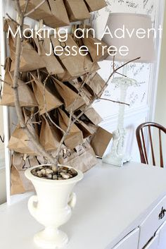 Stuff and Nonsense: Making an Advent Jesse Tree    I have thought about doing this when the kids are older.