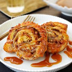 Pepperidge Farm® Puff Pastry:Praline-Banana Swirls