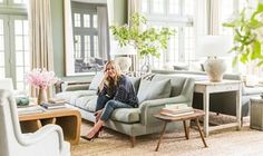 Love everything about this home! Home Tour: Edie Parker Founder Brett Heyman's Connecticut Escape Formal Living Rooms, Home Living Room, Living Room Designs, Living Spaces, Tiny Living, Living Area, Love Home, Elle Decor, Great Rooms
