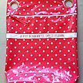 Je profite d'un nouveau sac à poussette que m'a demandé une amie pour vous faire un petit tuto imagé. Cette amie a 3 filles donc rose, rose...
