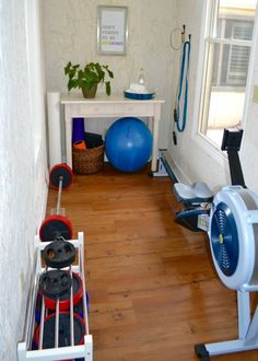 Small Space Exercise Room Ideas - The Greenbacks Gal