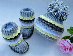 crochet baby booties 19