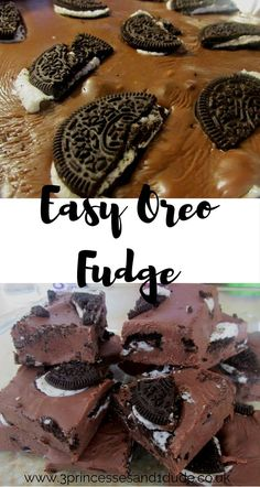 3 Princesses and 1 Dude!: Cooking With Kids. Easy Oreo Fudge