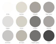I love a good warm grey palette! - Model Home Interior Design