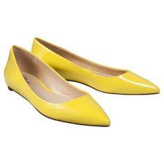 Target : Women's Prabal Gurung for Target® Pointy-Toe Flat - Blazing Yellow