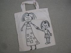 Fête des mères MS : petits sacs en tissu