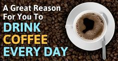 Drinking caffeinated coffee daily lowered the risk of colon cancer recurrence or death by 52 percent compared to those who do not drink coffee. http://articles.mercola.com/sites/articles/archive/2015/08/31/benefits-drinking-coffee.aspx