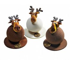 Christmas Day Custom Dessert - Page 47 of 48 - zzzzllee Chocolate Moose, Divine Chocolate, Chocolate Art, Chocolate Lovers, Chocolate Christmas Gifts, Christmas Sweets, Christmas Cooking, Xmas, Chocolate Showpiece