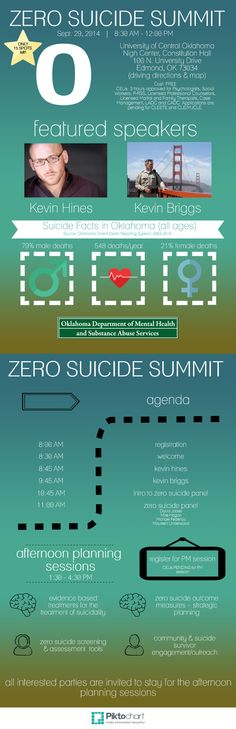 OK Zero Suicide Summit, Sept. 29, 2014 Copy   Piktochart Infographic Editor