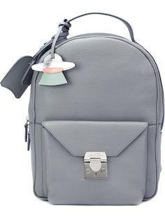 MARK CROSS envelope backpack. #markcross #bags #leather #canvas #backpacks #